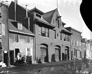 Engine House #3. Image provided by City of Philadelphia Department of Records