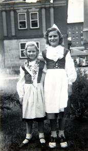 Girls at Gloria Dei Children's Club. Image provided by Historical Society of Pennsylvania