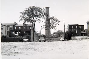 Sparks Shot Tower. Image provided by Historical Society of Pennsylvania