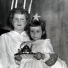 Santa Lucia celebration at Gloria Dei Children's Club. Image provided by Historical Society of Pennsylvania