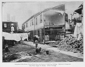 Dilapidated alley house. Image provided by Historical Society of Pennsylvania