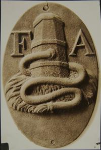 Fire Association mark. Image provided by Historical Society of Pennsylvania