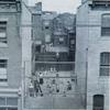 We play in a crack on Christian Street, 435 play yard. Image provided by Historical Society of Pennsylvania