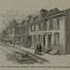 Old Swedes' Houses, Christian Street. Image provided by Historical Society of Pennsylvania