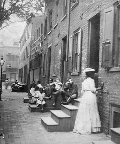 Negro quarters. Image provided by Temple University Urban Archives