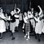 Folk dancing at Gloria Dei Children's Club. Image provided by Historical Society of Pennsylvania