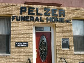 Pelzer Funeral Home. Image provided by Historical Society of Pennsylvania