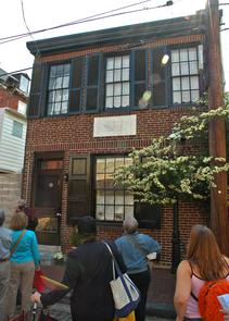 Site of the Southwark Soup Society. Image provided by City of Philadelphia Department of Records