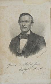 Benjamin T. Sewell portrait. Image provided by Historical Society of Pennsylvania