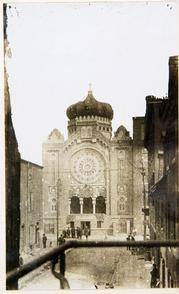 B'nai Abraham synagogue. Image provided by Historical Society of Pennsylvania
