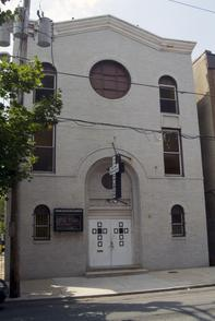 Phillips Temple Methodist Christian Church. Image provided by Historical Society of Pennsylvania