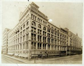 Snellenburg & Co. Building On Market Street Between 11th and 12th. Image provided by Historical Society of Pennsylvania