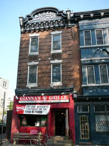 Gianna's Grille at 6th and Lombard. Image provided by Historical Society of Pennsylvania