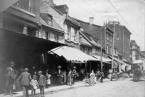 4th Street market building. Image provided by Temple University Urban Archives