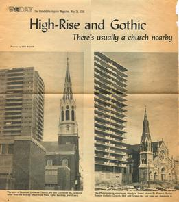 High-Rise and Gothic. Image provided by Emanuel Lutheran Church