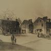 George Mifflin Houses and Workman's Court. Image provided by Historical Society of Pennsylvania