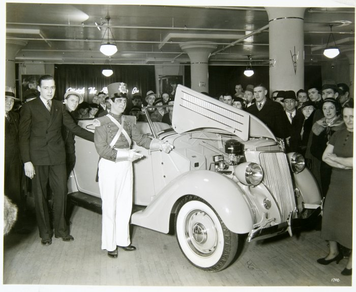 Ford Festival at Snellenburg's. Image provided by Historical Society of Pennsylvania
