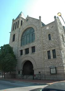 Historic Mother Bethel A.M.E. Church, 6th and Lombard Streets. Image provided by City of Philadelphia Department of Records