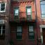 Housefronts on 600 Block of Kater Street