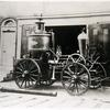 Engine 11, steamer. Image provided by Fireman's Hall Museum
