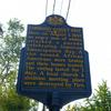 Lombard Street Riot Historical Marker. Image provided by Historical Society of Pennsylvania