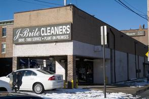 J Brite Cleaners. Image provided by Historical Society of Pennsylvania