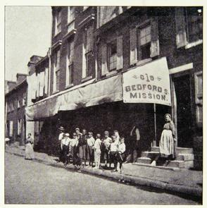 Bedford Street Mission. Image provided by Historical Society of Pennsylvania