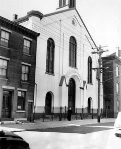 St. Stanislaus Catholic Church. Image provided by Temple University Urban Archives