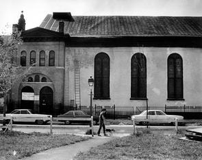 Kesher Israel Synagogue. Image provided by Temple University Urban Archives