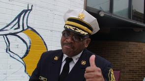 Deputy Fire Commissioner, Ernest Hargett, Jr.. Image provided by Haftom Khasai
