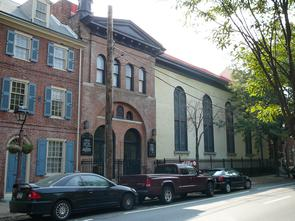 Kesher Israel Synagogue. Image provided by Historical Society of Pennsylvania