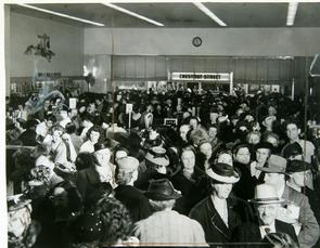 Sale of Butter at Snellenburg's. Image provided by Historical Society of Pennsylvania
