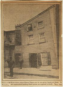 House at 700 Kater Street. Image provided by Historical Society of Pennsylvania