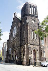 Mt. Tabor African Methodist Church. Image provided by Historical Society of Pennsylvania