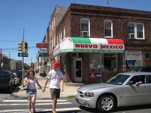 Nuevo Mexico Grocery and Variety Store. Image provided by Historical Society of Pennsylvania