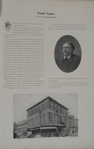 Frank Cuneo and Italian & American Maccaroni Works. Image provided by Historical Society of Pennsylvania