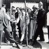 Golden Block Mall groundbreaking ceremony. Image provided by Historical Society of Pennsylvania