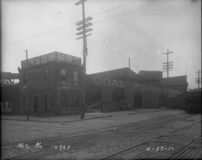 Southwest Corner - 9th Street and Washington Avenue. Image provided by City of Philadelphia Department of Records