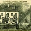 """A Full and Complete Account of the Late Awful Riots in Philadelphia"": Alderman Hugh and Patrick Clark's Houses. Image provided by Historical Society of Pennsylvania"