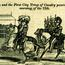 """""""A Full and Complete Account of the Late Awful Riots in Philadelphia"""": Major General Patterson and the First City Troop of Cavalry. Image provided by Historical Society of Pennsylvania"""