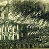 """A Full and Complete Account of the Late Awful Riots in Philadelphia"": St. Augustine Church. Image provided by Historical Society of Pennsylvania"