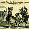 """A Full and Complete Account of the Late Awful Riots in Philadelphia"": Major General Patterson and the First City Troop of Cavalry. Image provided by Historical Society of Pennsylvania"