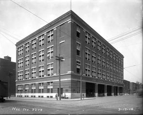 Northwest Corner, 11th Street and Washington Avenue. Image provided by City of Philadelphia Department of Records