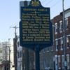 Giannini Family marker & site of Verdi Hall. Image provided by Historical Society of Pennsylvania