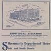 Silverman's Department Store. Image provided by Historical Society of Pennsylvania
