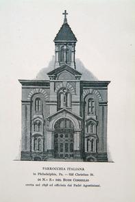 Parrocchia Italiana. Image provided by Historical Society of Pennsylvania