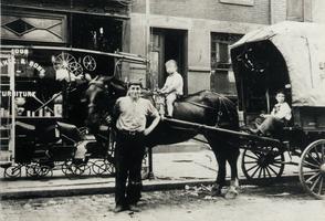 Fante's Cart, 1906. Image provided by Mariella Esposito