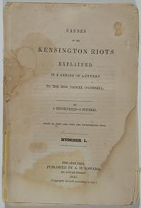 "Title page from ""Causes of the Kensington Riots explained"". Image provided by Historical Society of Pennsylvania"