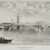 Philadelphia from the Navy Yard. Image provided by Historical Society of Pennsylvania