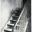 Tenement House Stairway, Showing Dirt. Image provided by Historical Society of Pennsylvania